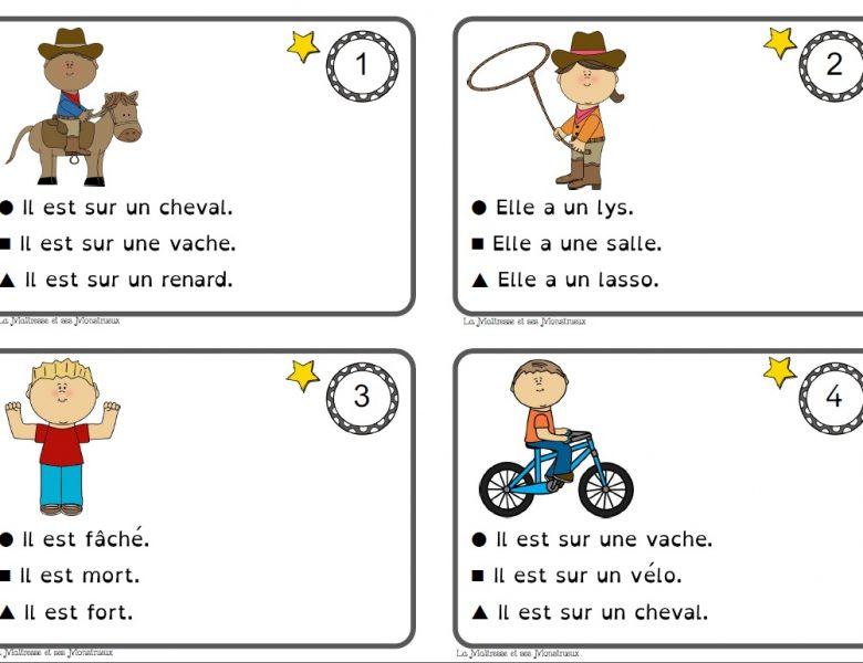 فرنسية سنة ثالثة ــ صور و إجابات ـــ تمارين ممتعة